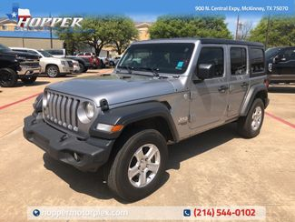 2018 Jeep Wrangler Unlimited Sport in McKinney, Texas 75070