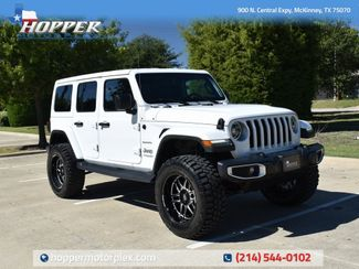 2018 Jeep Wrangler Unlimited Sahara NEW LIFT/CUSTOM WHEELS AND TIRES in McKinney, Texas 75070