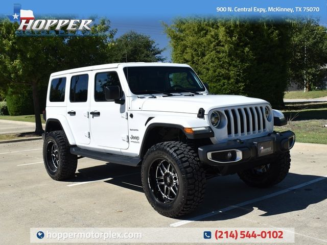 2018 Jeep Wrangler Unlimited Sahara NEW LIFT/CUSTOM WHEELS AND TIRES