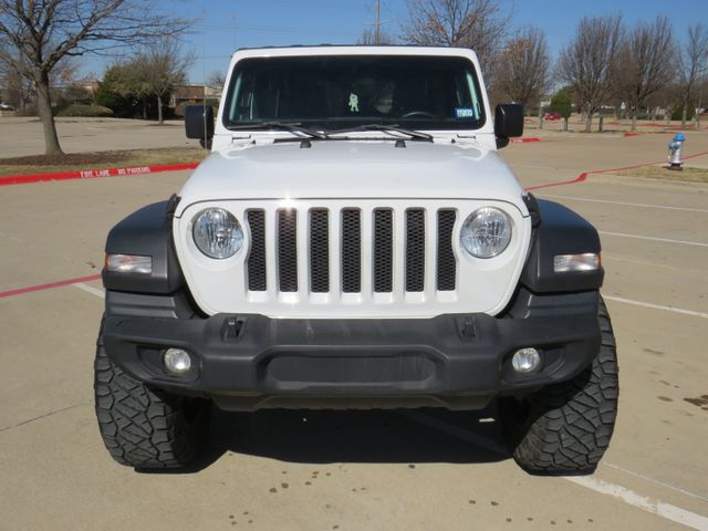 2018 Jeep Wrangler Unlimited Sport Custom Lift, Wheels and Tires in McKinney, Texas 75070