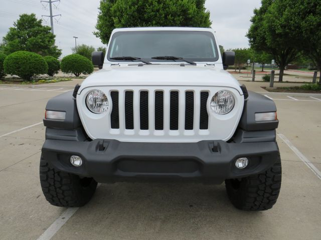 2018 Jeep Wrangler Unlimited Sport NEW LIFT/CUSTOM WHEELS AND TIRES in McKinney, Texas 75070