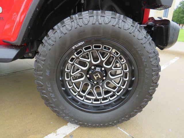 2018 Jeep Wrangler Unlimited Sahara Custom Lift Wheels and Tires in McKinney, Texas 75070