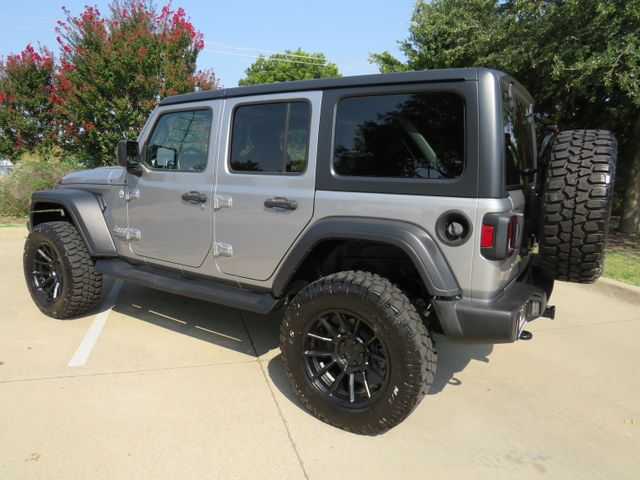 2018 Jeep Wrangler Unlimited Sport CUSTOM LIFT/ WHEELS AND TIRES in McKinney, Texas 75070