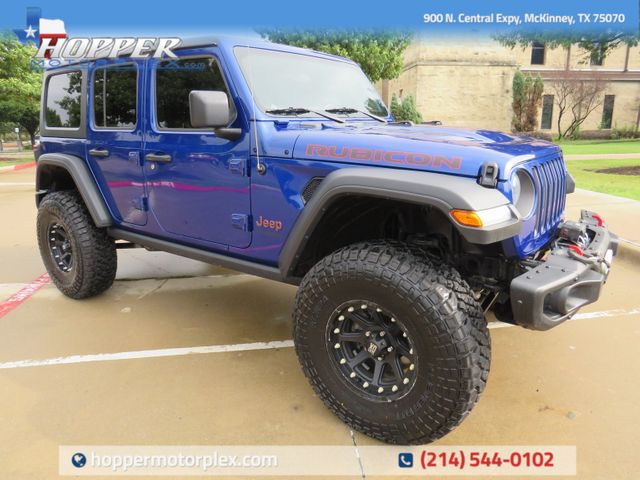 2018 Jeep Wrangler Unlimited Rubicon Custom Lift, Wheels and Tires