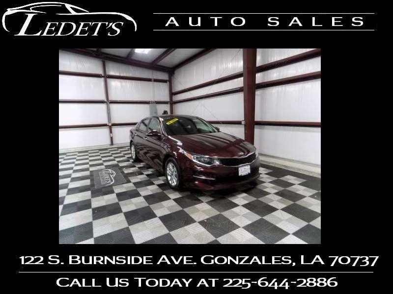 2018 Kia Optima LX - Ledet's Auto Sales Gonzales_state_zip in Gonzales Louisiana