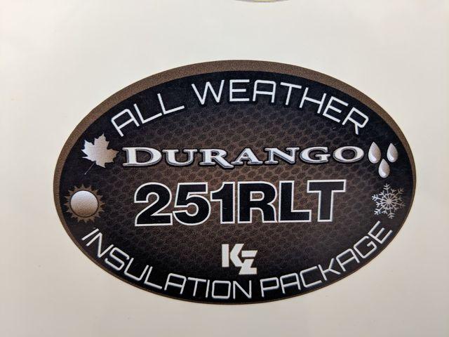 2018 Kz Durango 1500 D251RLT Mandan, North Dakota 1