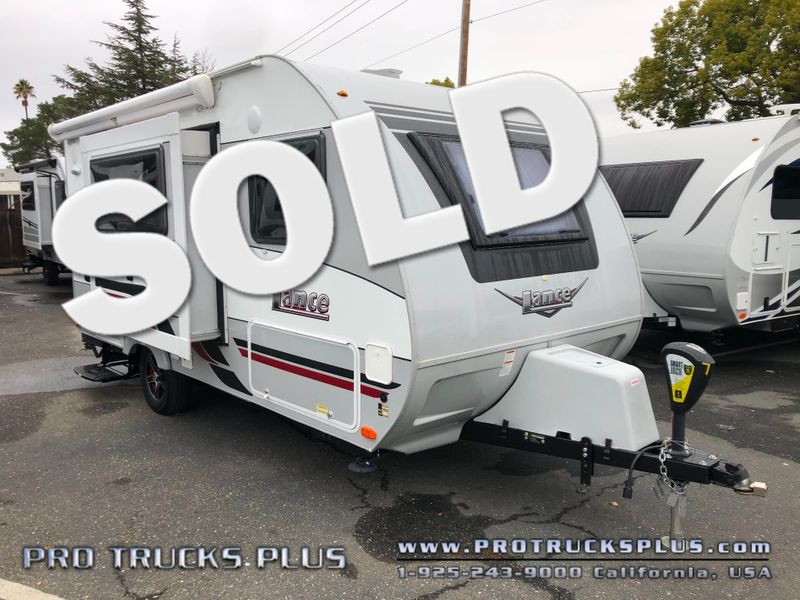 1475s Lance 2018 Used, slideout, a/c, power awning  in Livermore California