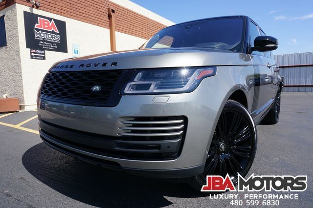 2018 Land Rover Range Rover Supercharged Full Size