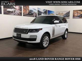 2018 Land Rover Range Rover HSE in San Diego, CA 92126