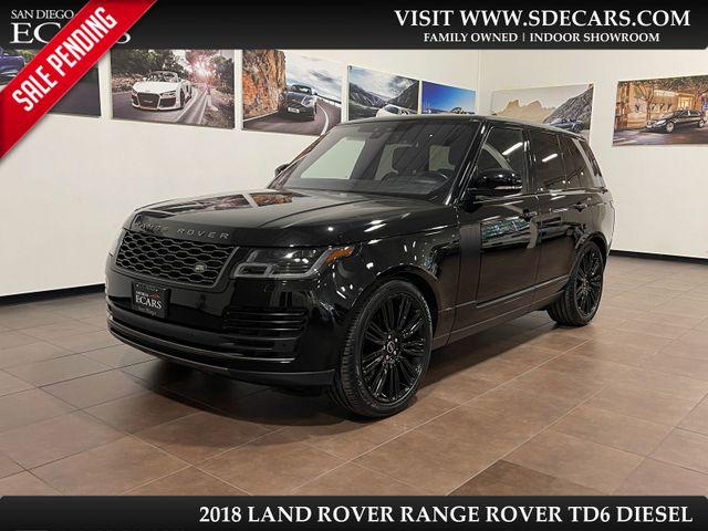 2018 Land Rover Range Rover TD6 Diesel