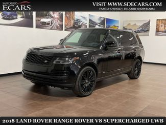 2018 Land Rover Range Rover V8 Supercharged LWB in San Diego, CA 92126