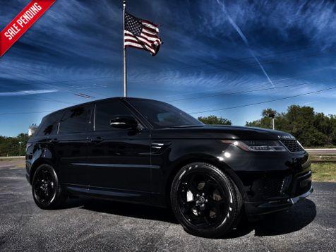 2018 Land Rover Range Rover Sport SPORT HSE BLACK/BLACK PANO 20