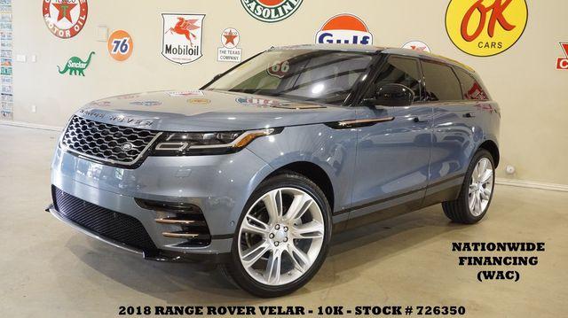 2018 Land Rover Range Rover Velar R-Dynamic SE PANO ROOF,NAV,HTD/COOL LTH,22'S,10K
