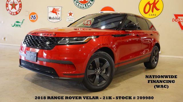 2018 Land Rover Range Rover Velar S MSRP 62K,PANO ROOF,NAV,HTD/COOL LTH,21K