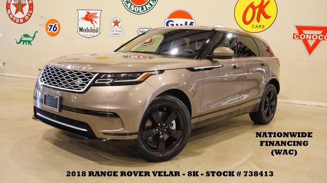 2018 Land Rover Range Rover Velar S PANO ROOF,NAV,HTD/COOL LTH,8K,WE FINANCE