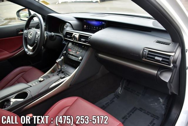 2018 Lexus IS 300 F Sport IS 300 F Sport AWD Waterbury, Connecticut 22