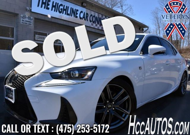 2018 Lexus IS 300 F Sport IS 300 F Sport AWD Waterbury, Connecticut