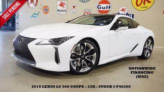 2018 Lexus LC 500 MSRP 102K,HUD,MARK LEVINSON,HTD/COOL LTH,21'S,7... in Carrollton TX, 75006
