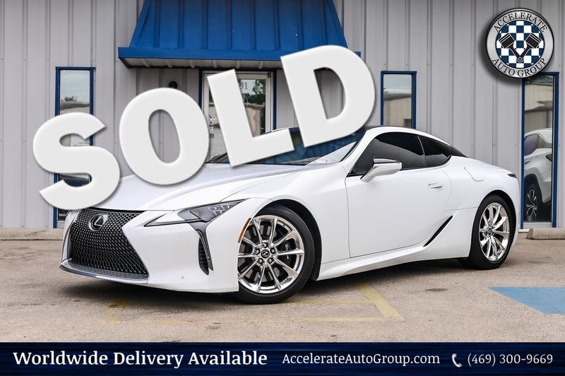 2018 Lexus LC 500 TOURING PACKAGE W/ MARK LEVINSON STEREO/NAVIGATION in Rowlett Texas