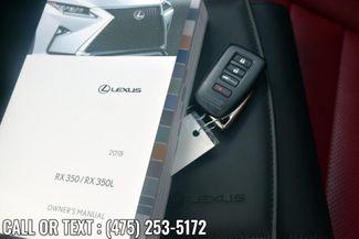 2018 Lexus RX 350 F Sport RX 350 F Sport AWD Waterbury, Connecticut 46