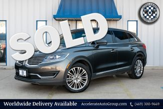 2018 Lincoln MKX RESERVE NAV LEATHER PANO ROOF LOADED VERY NICE in Rowlett