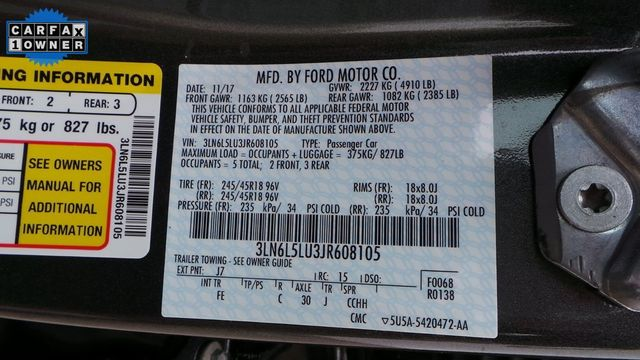 2018 Lincoln MKZ Hybrid Select Madison, NC 43