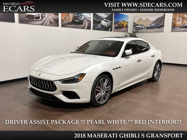 2018 Maserati Ghibli S GranSport in San Diego, CA 92126