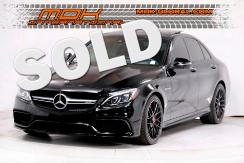 2018 Mercedes-Benz AMG C 63 S - AMG Performance Seats - Exhaust - HUD - Carbon in Los Angeles