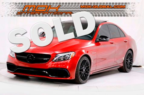 2018 Mercedes-Benz AMG C 63 - WELL OPTIONED - 1 OWNER in Los Angeles