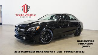 2018 Mercedes-Benz AMG C 63 Sedan ROOF,NAV,360 CAM,HTD/COOL LTH,26K in Carrollton, TX 75006