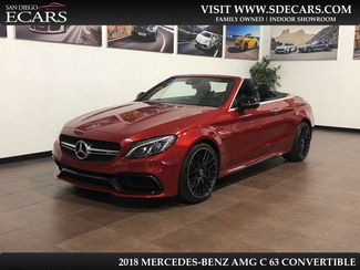 2018 Mercedes-Benz AMG C 63 Convertible in San Diego, CA 92126