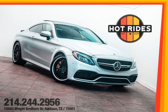 2018 Mercedes-Benz AMG C63 S in Factory Satin Silver w/ Carbon Ceramic Brakes