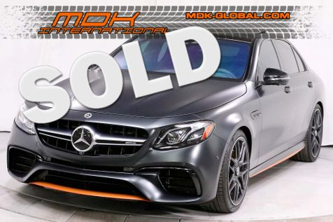 2018 Mercedes-Benz AMG E 63 S - EDITION 1 - ORIGINAL MSRP OF $135K in Los Angeles