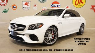 2018 Mercedes-Benz AMG E 63 S 4MATIC MSRP 111K,ROOF,NAV,HTD/COOL LTH,4K in Carrollton, TX 75006
