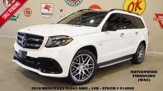 2018 Mercedes-Benz AMG GLS 63 MSRP 138K,PANO ROOF,NAV,360 CAM,REAR DVD,10K in Carrollton TX, 75006