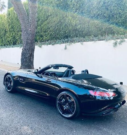 2018 Mercedes-Benz AMG GT Convertible  Factory Warranty, As New Condition in , California