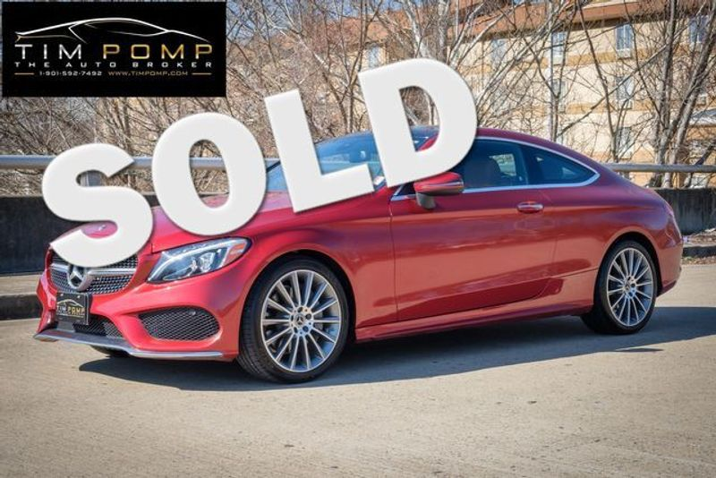 2018 Mercedes-Benz C 300 FACTORY WARRANTY REMAINING   Memphis, Tennessee   Tim Pomp - The Auto Broker in Memphis Tennessee