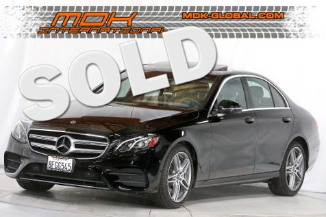 2018 Mercedes-Benz E 300 - Sport pkg - Premium 2 pkg - Navigation in Los Angeles