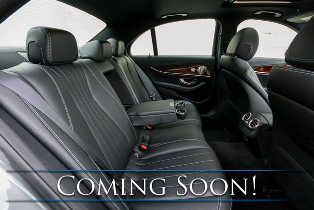 2018 Mercedes-Benz E300 4MATIC AWD w/Nav, Backup Cam, Heated Seats, Moonroof & Premium Audio w/CarPlay in Eau Claire, Wisconsin 54703