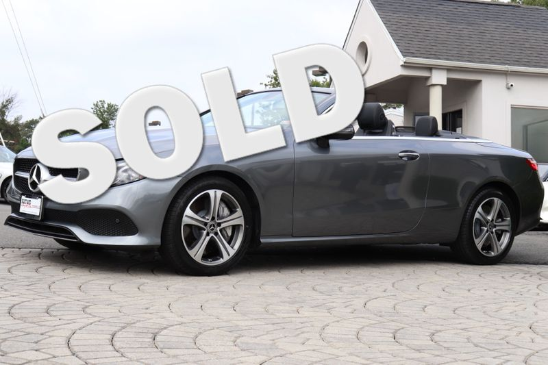 2018 Mercedes-Benz E-Class E400 4Matic Cabriolet in Alexandria VA