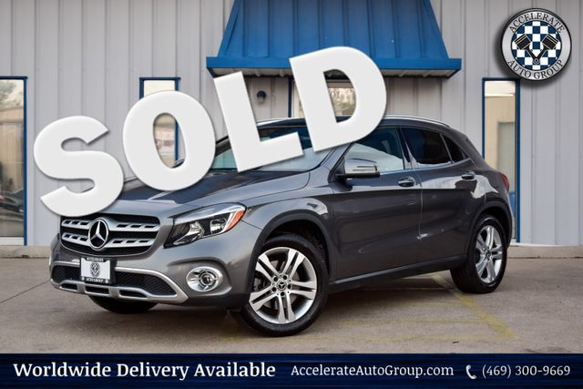 2018 Mercedes-Benz GLA 250 4MATIC NAV BLIND SPOT CONV. PKG KEYLESS GO CARPLAY in Rowlett