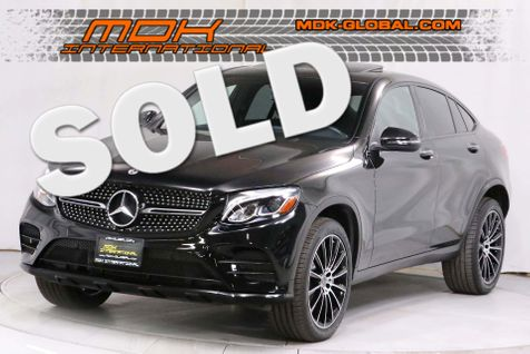 2018 Mercedes-Benz GLC 300 4Matic Coupe - AMG wheels - Sport pkg - Navigation in Los Angeles