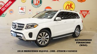 2018 Mercedes-Benz GLS 450 4MATIC PANO ROOF,NAV,360 CAM,HTD LTH,29K in Carrollton, TX 75006