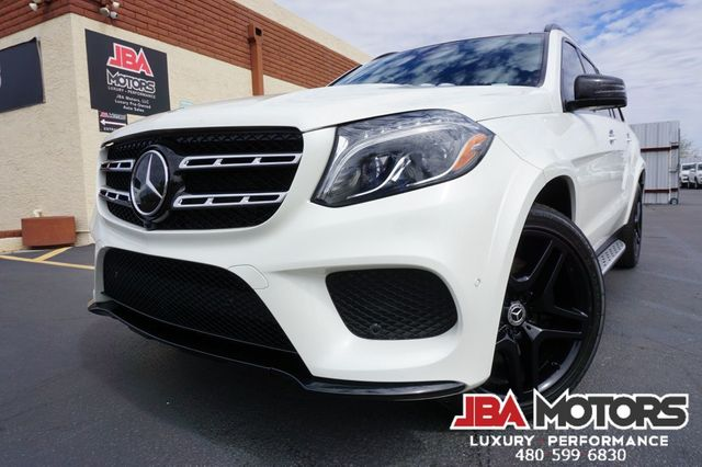 2018 Mercedes-Benz GLS550 GLS Class 550 ~ $101k MSRP Night PKG Diamond White