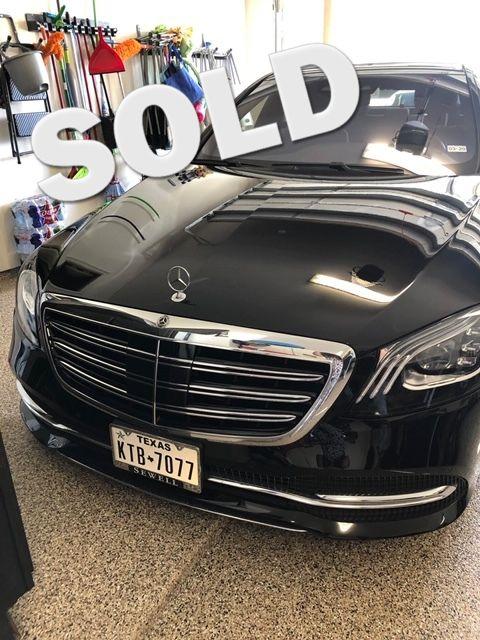 2018 Mercedes-Benz S 450 Houston, Texas 0