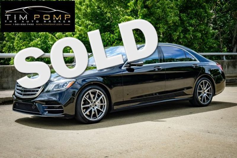 2018 Mercedes-Benz S 450 PANO ROOF SPORT PKG NAVIGATION HEADS UP DISPLAY | Memphis, Tennessee | Tim Pomp - The Auto Broker in Memphis Tennessee