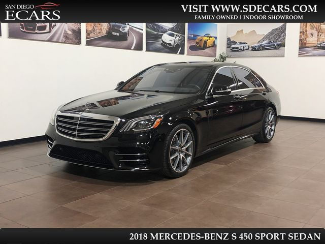2018 Mercedes-Benz S450 Sport Sedan in San Diego, CA 92126