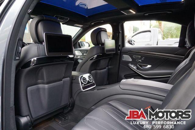2018 Mercedes-Benz S63 AMG S Class 63 Sedan 4Matic AWD Night Pkg Rear DVD WOW in Mesa, AZ 85202