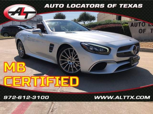 2018 Mercedes-Benz SL 550 SL550 in Plano, TX 75093