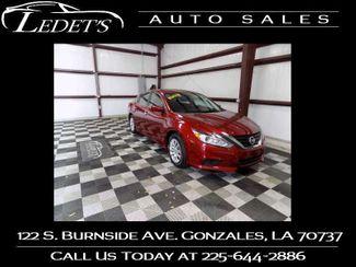 2018 Nissan Altima 2.5 S - Ledet's Auto Sales Gonzales_state_zip in Gonzales